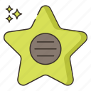 achievement, award, fame, of, walk icon
