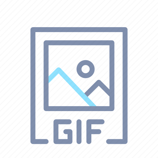 document, file, format, gif, image, picture, video icon