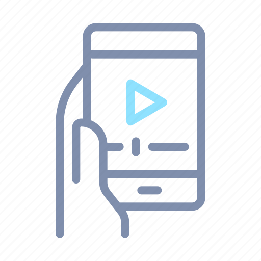 device, image, mobile, phone, player, sharing, video icon