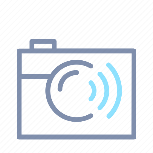 camera, image, photo, photography, picture, sharing, wireless icon
