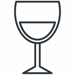 alcohol, cup, drink, glass, viniculture, wine, yummy icon
