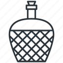 alcohol, bottle, carboy, demijohn, viniculture, wine, yummy icon