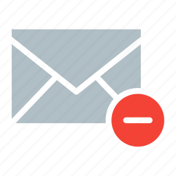 delete, email, envelope, remove, send icon