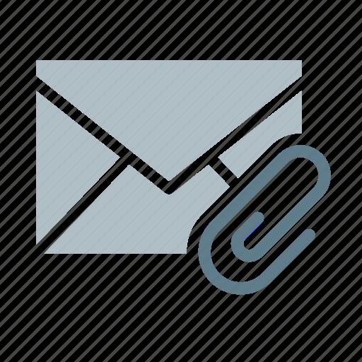 attachment, clip, email, envelope, paper, send icon