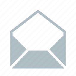 email, envelope, mail, open, send icon