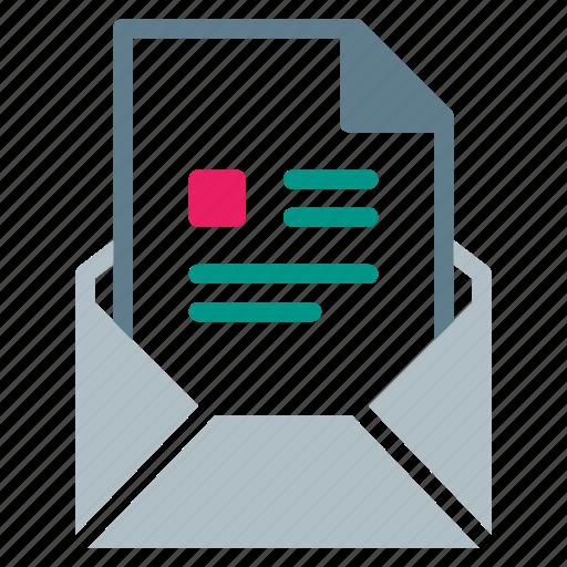 attachment, cv, email, file, profife, send icon