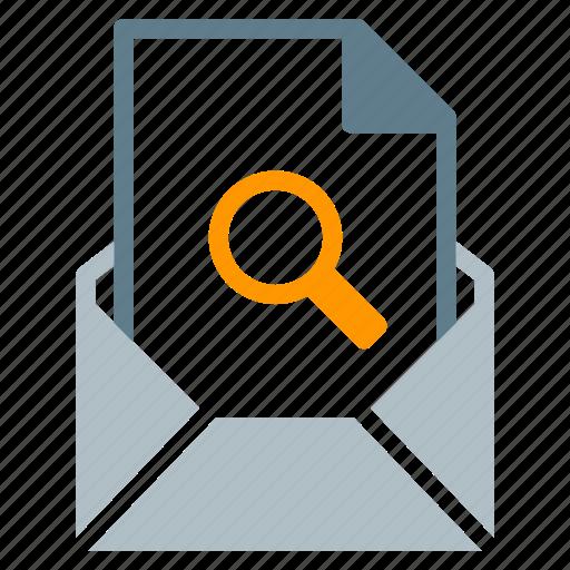 attachment, email, file, search, send icon