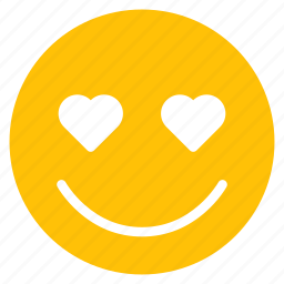 avatar, emoticon, emotion, face, happy, love, smile icon