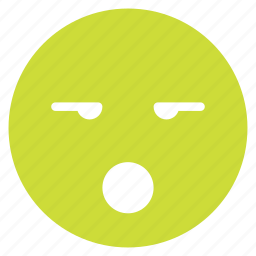 avatar, emoticon, emotion, expression, face, mood, surprised icon