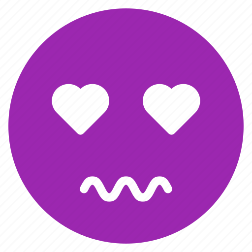 avatar, emoticon, emotion, expression, face, love, scared icon