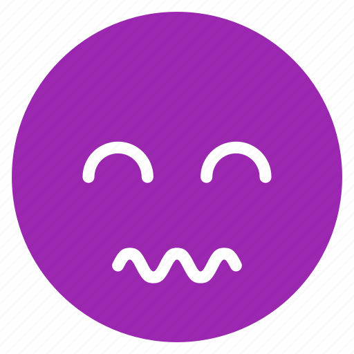 avatar, emoticon, emotion, expression, face, mood, scared icon