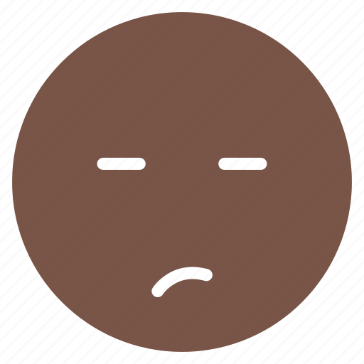 avatar, emoticon, emotion, expression, face, mood, unsure icon