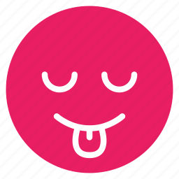 avatar, emoticon, emotion, face, out, smile, tongue icon
