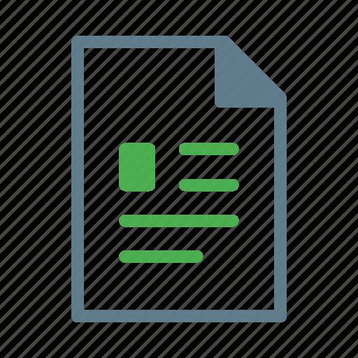 cv, doc, document, file, profile icon