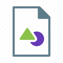 design, document, drawing, file, shape icon