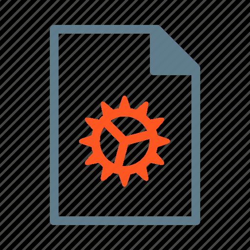 configure, document, file, setting, setup icon