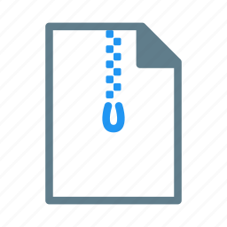 compress, document, file, rar, zip icon