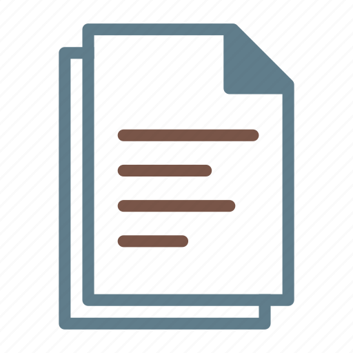 doc, document, documents, file, files, text icon