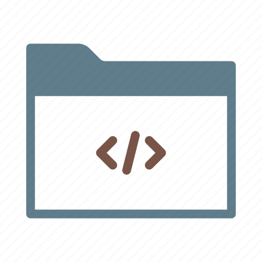 code, collection, folder, group, html, programming icon