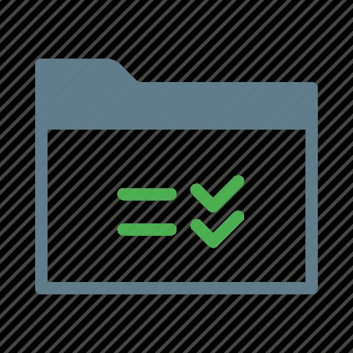 checklist, collection, folder, group, reminder icon