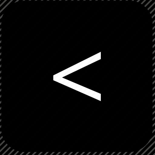 corner, keyboard, keypad, left icon