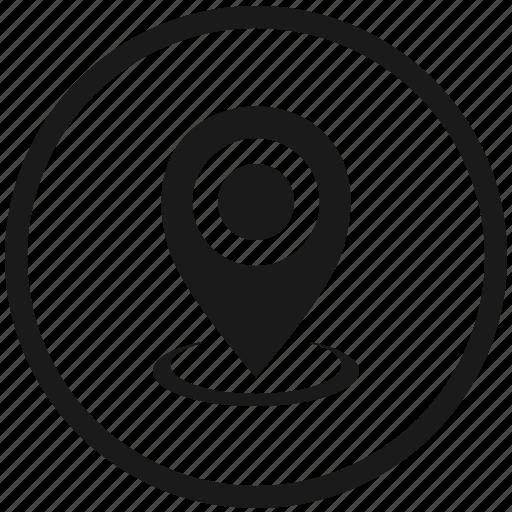 atm, function, geo, poi, pointer, round icon