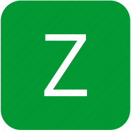 green, keyboard, keypad, letter, uppercase, z icon