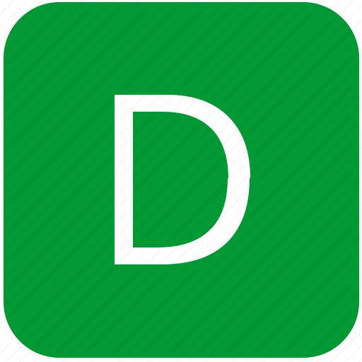 d, green, keyboard, keypad, select, uppercase icon