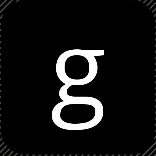 g, keypad, latin, letter, lowcase icon