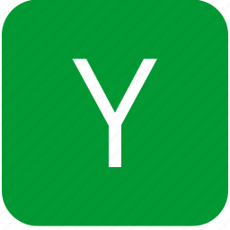 green, keyboard, keypad, letter, select, uppercase, y icon
