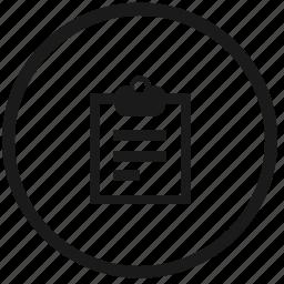 atm, planning, round, work icon