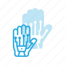 controllergaming, glove, reality, simulation, technology, virtual, vr icon