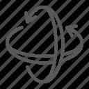 arrow, axis, pivot, rotate, rotation, view