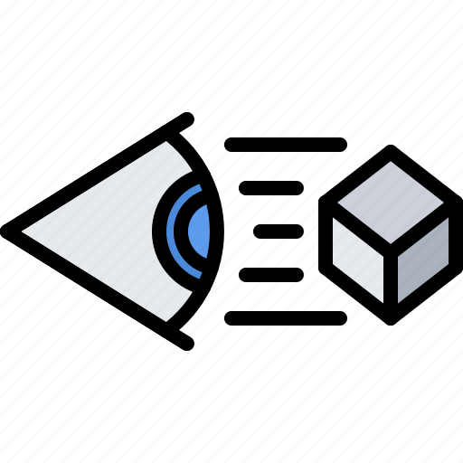 3d, cube, eye, glasses, reality, virtual, vr icon - Download on Iconfinder