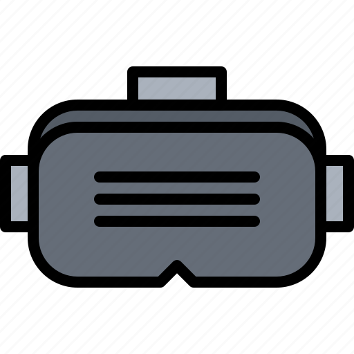 3d, glasses, reality, virtual, vr icon - Download on Iconfinder