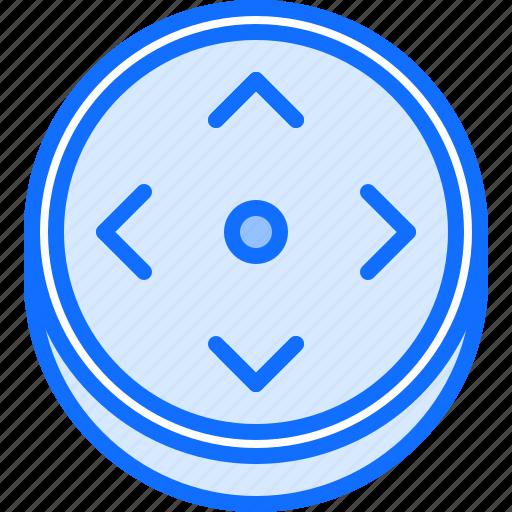3d, button, glasses, reality, virtual, vr icon