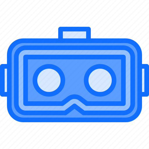 Inside, reality, vr, glasses, 3d, lenses, virtual icon - Download on Iconfinder