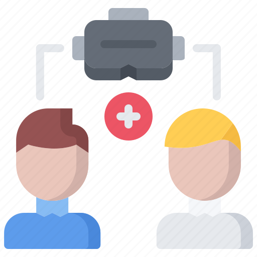 3d, cooperative, glasses, man, reality, virtual, vr icon - Download on Iconfinder