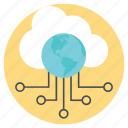 cloud computing, cloud computing services, cloud hosting, cloud network, web hosting icon