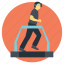 virtual reality, virtual reality gym, vr app for exercise, vr fitness insider, vr fitness program icon