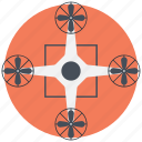 drone technology, quadcopter, quadcopter drone, quadrotor, quadrotor helicopter icon