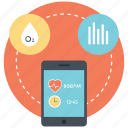 application health monitoring, health app, health monitoring app, health monitoring device, medical app icon