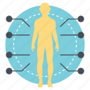 body area network, body sensor network, body sensors, wearable computing device, wireless body area network icon