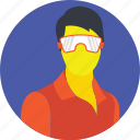 head mounted display, head-mounted device, virtual reality, virtual reality goggles, vr headset icon