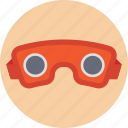 3d glasses, virtual reality glasses, virtual reality goggles, virtual reality headset, vr glasses icon