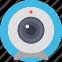 cctv camera, security camera, security equipment, surveillance camera, video camera icon
