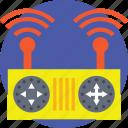drone accessory, drone remote controller, quadcopter remote, remote control device, wifi remote controller icon