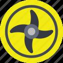 ninja blade, prop blade, propeller blade, quad blade, teetering rotor icon