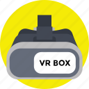 augmented reality, virtual reality device, virtual reality headset, vr box, vr technology icon