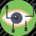 augmented reality, eye tap, eye tap augmentation, smart glasses, wearable computing icon